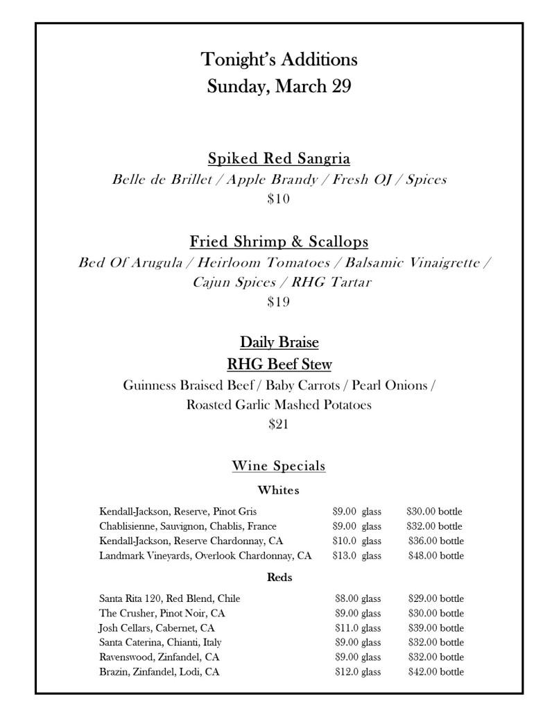 March 29fb